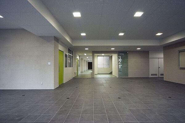 奈良産業大学5号館1階改修